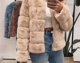Fluffy jacket Mia