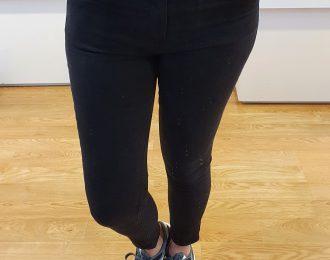 Jeans zwart Queen Hearts