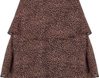 Skirt Zoleste pink – Brown