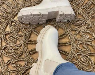 Chelsea boots-Beige